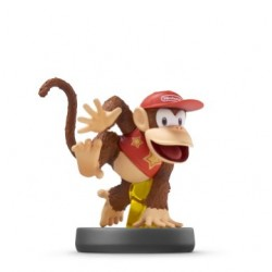 (WiiU) Amiibo Diddy Kong Super Smash Bros Serie