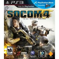 (PS3) SOCOM 4: U.S. Navy Seals -Usado-