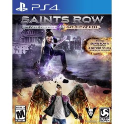 (PS4) Saints Row IV Re-Elected + Gat out of Hell