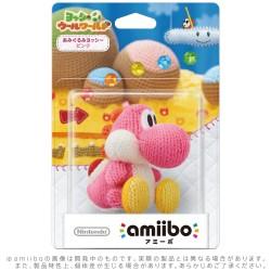 (WiiU) Amiibo Yoshi Blue de Lana Japonés