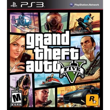 (PS3) Grand Theft Auto V -Usado-