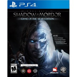 (PS4) Middle Earth: Shadow of Mordor Game of the Year