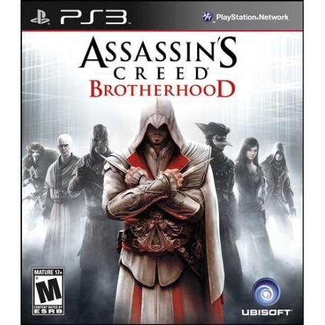 (PS3) Assasins Creed Brotherhood -Usado-