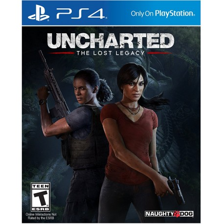 (PS4) Uncharted The Lost Legacy