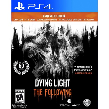 (PS4) Dying Light The Following