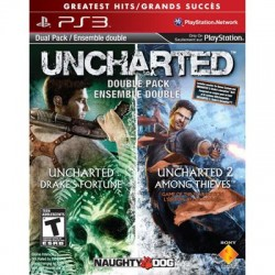 (PS3) UNCHARTED Greatest Hits Dual Pack