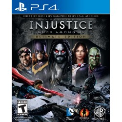 (PS4) Injustice: Gods Among Us - Ultimate Edition