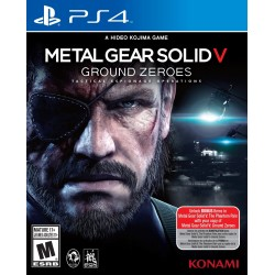 (PS4) Metal Gear Solid V: Ground Zeroes