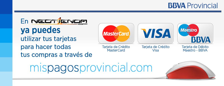 Pagar con Tarjeta de Crédito de forma rápida y segura.